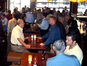Kansas City Information Technology Professionals at the Waldo Well Networking Event