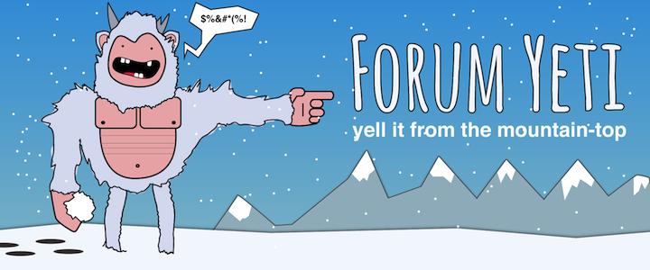 Forum Yeti Logo