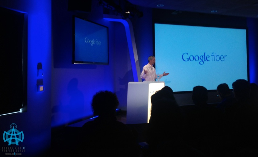 Patrick Pichette, CFO of Google - Announces Google Fiber Launch in Kansas City