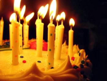 Birthday Cake - Candles