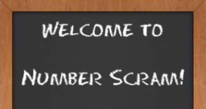 Number Scram Logo